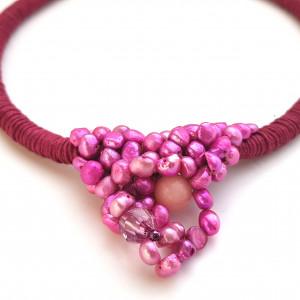 Naszyjnik perły hodowlane Laya