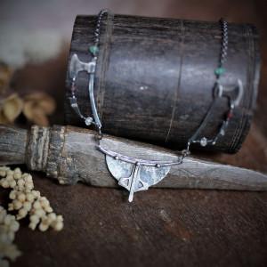 Naszyjnik Wiking - srebro