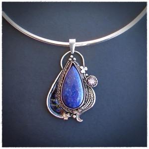 Naszyjnik z Lapisem Lazuli