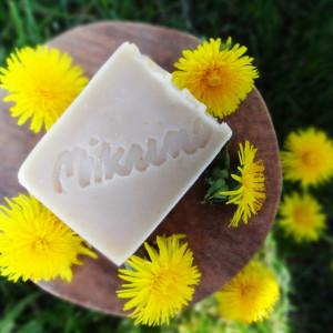 Naturalne mydło z mniszkiem lekarskim