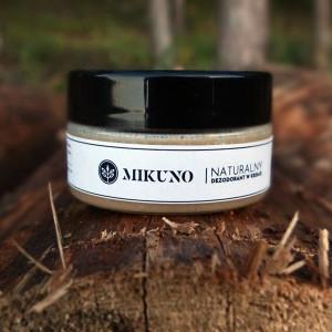 Naturalny dezodorant w kremie Mikuno