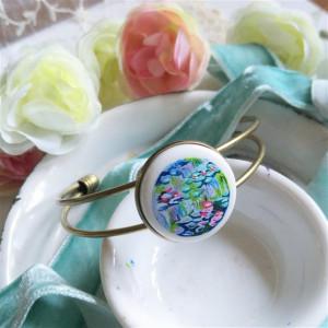 Nenufary Claude Monet, Porcelanowa bransoletka