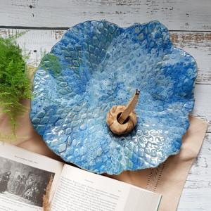 Niebieska ekspresja - oryginalna patera