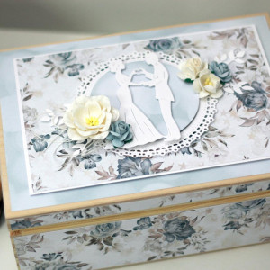 Niezbędnik małżeński - skrzynka - prezent na ślub