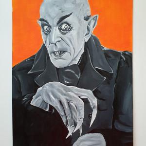 Nosferatu oryginalny obraz akrylowy