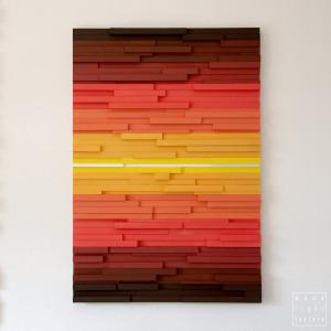 """Obraz 3D Mozaika drewniana """"F1"""" na zamówienie"""