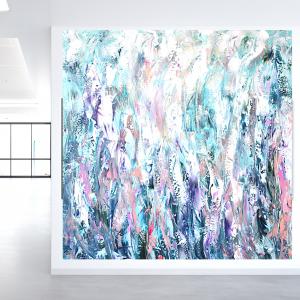 Obraz abstrakcyjny 100x100 abstrakcja