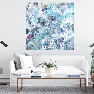 Obraz akrylowy ręcznie malowany 70x70