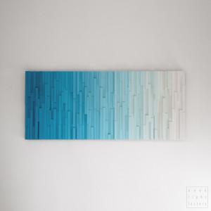 """Obraz drewniany 3D Mozaika drewniana """"409"""""""