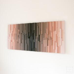 "Obraz drewniany 3D Mozaika drewniana ""Vultures"""