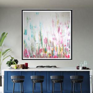 Obraz malowany 120x120