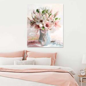 Obraz na płótnie 80 x 100 Magnolie w wazonie