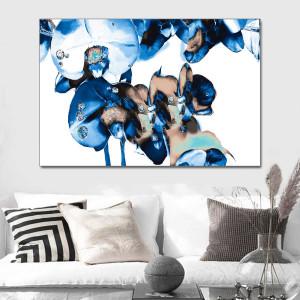 Obraz na płótnie Diamentowe storczyki 120 x 80