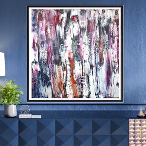 Obraz na płótnie ręcznie malowany 100x100