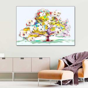 Obraz na płótnie Wiosenne drzewo 120 x 80
