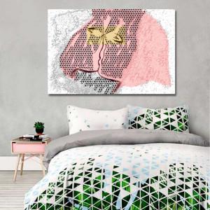 Obraz na ścianę Nowoczesny pocałunek 120 x80