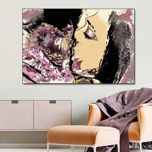 Obraz pocałunek Miłosne zatracenie 120 x 80