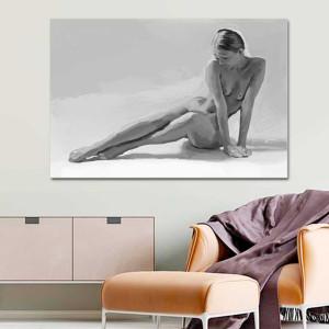 Obraz w szarościach Akt kobiety 120 x 80