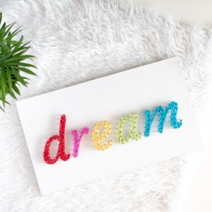 Obrazek pokój dziecka Dream słodkich snów String A