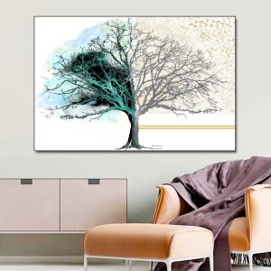 Obrazy nowoczesne  Drzewo dnia i nocy 120 x 80