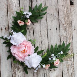 Obręcz kwiatowa, wianek
