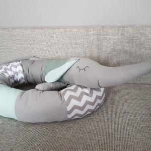 Ochraniacz do łóżeczka łóżka jamnik 04