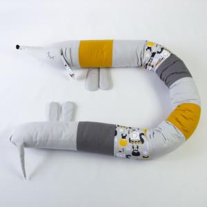 Ochraniacz do łóżeczka łóżka jamnik 19