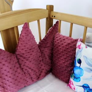Ochraniacz do łóżeczka poduszkowy