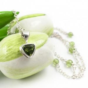 Oliwin w srebrze – naszyjnik choker