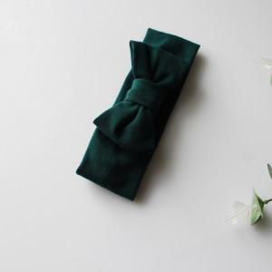 Opaska kokarda butelkowa zieleń rozmiary