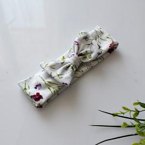 Opaska kokarda polne kwiaty rozmiary