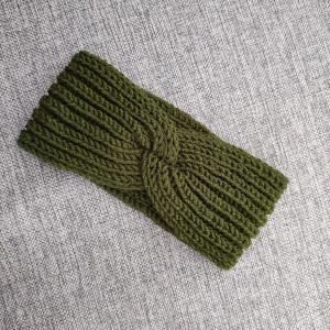opaska na głowę - zielona