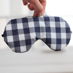 Opaska na oczy do spania z bawełny w kretkę