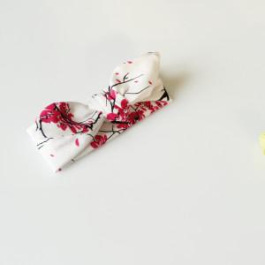 Opaska  pin up kwiaty wiśni ROZMIARY