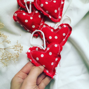 Ozdoby dekoracje serca