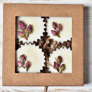 Pachnidełko do kominków pąki róż - 4 x 25g