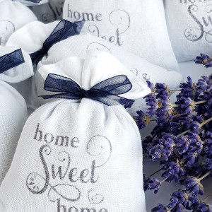 """pakiet 10 woreczków - """"home sweet home"""""""