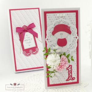 Pamiątka naroczek - kartka w pudełku 01