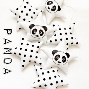 PANDA - girlanda
