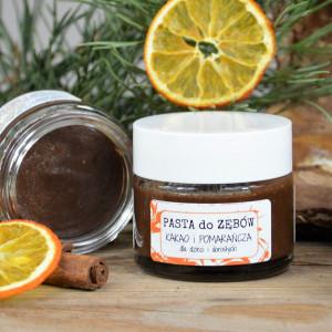 PASTA do ZĘBÓW Kakao i Pomarańcza - Dotyk Kreacji