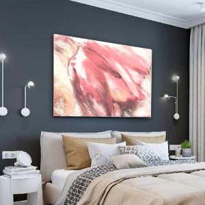 Pastelowy obraz Abstrakcja tulipan 120 x 80