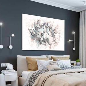 Pastelowy obraz na ścianę Bukiet magnolii 120 x 80