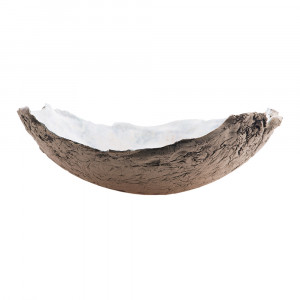 Patera / Miska ceramiczna błękitna duża
