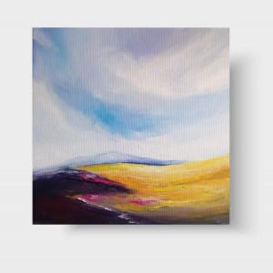 Pejzaż -obraz akrylowy 40/40 cm