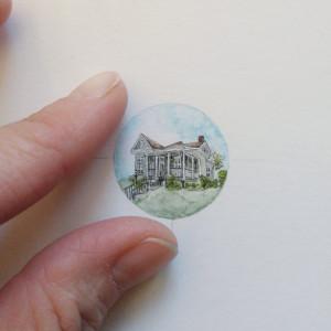 Personalizowaany portret domu, miniaturka