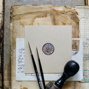 Pieczęć Templariuszy, średniowieczny rycerz