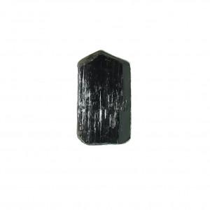 Pierścionek czarny turmalin w srebrze