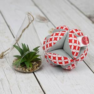 Piłeczka puzzlowa Takane-czerwone maroko+szary