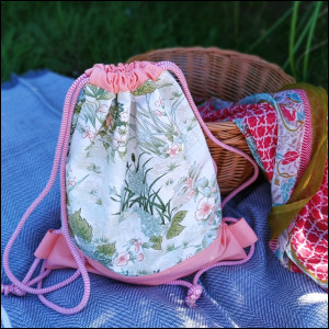Plecak damski - dzika łąka