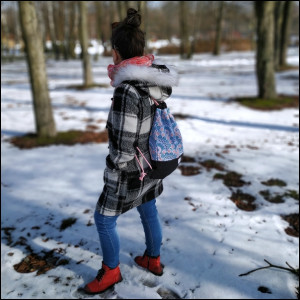 Plecak damski - orient